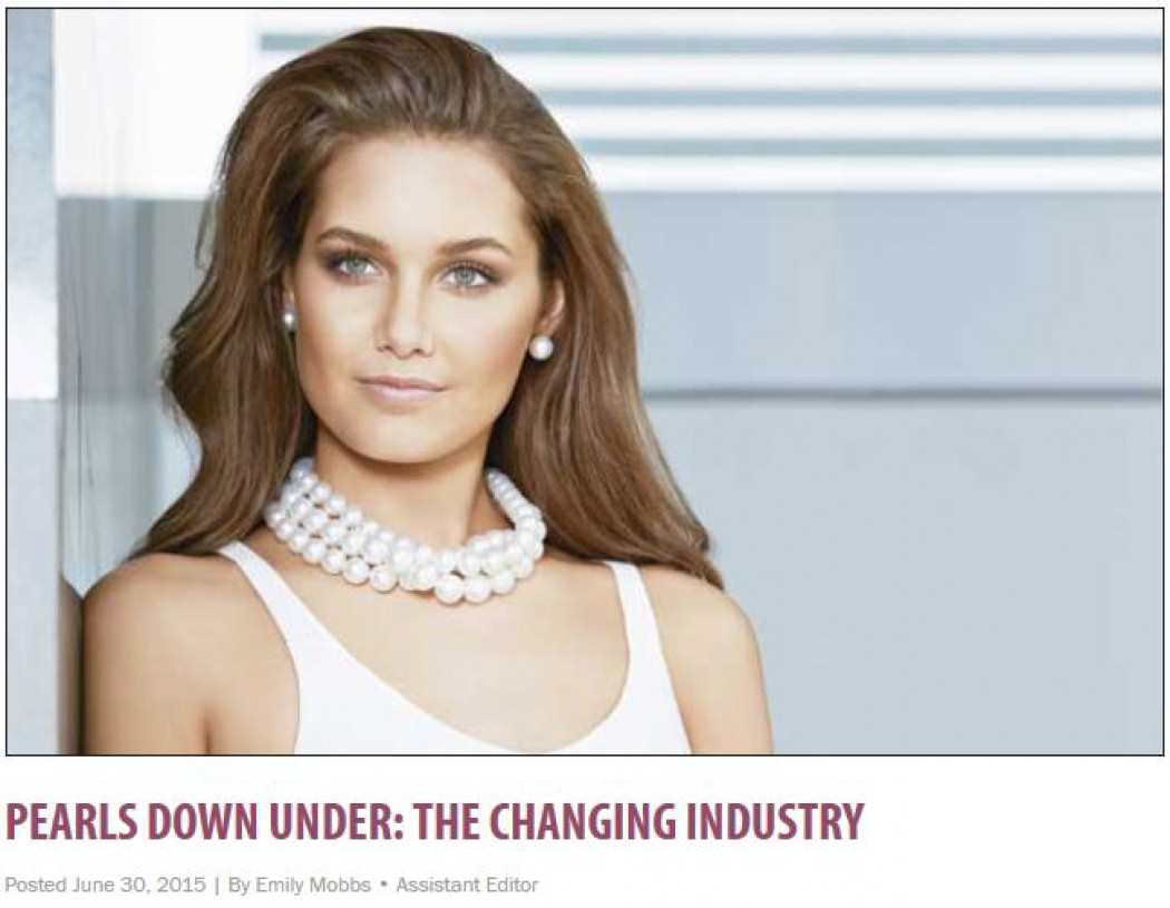 Pearls Down Under: the changing industry